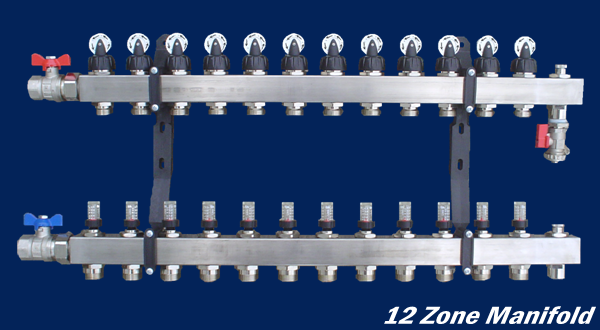 Highest Tax Bracket >> Stainless Steel Manifolds - A.I.M. Radiant Heating
