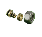 Compression Fitting PEX-AL-PEX Pipe