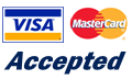 Visa and Master Card Accepted